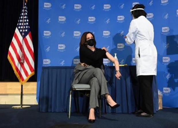 Coronavirus - Amerikaanse vicepresident Kamala Harris tweede keer ingeënt