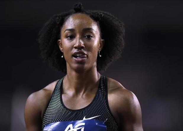 L'Américaine Brianna McNeal, championne olympique du 100 m haies, suspendue