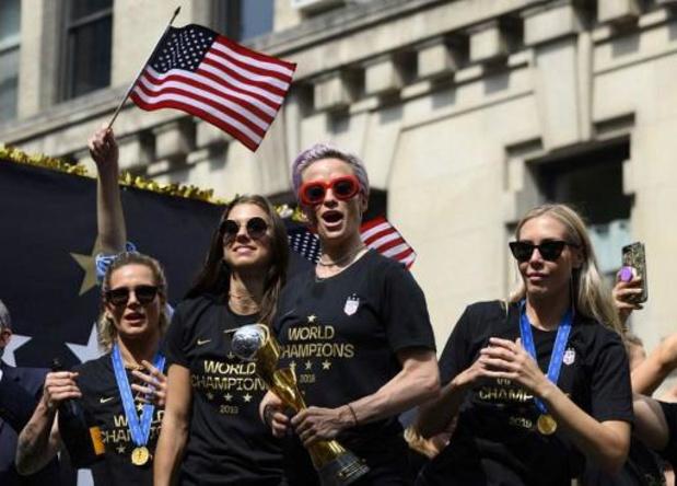 Rechter verwerpt claim gelijk loon Amerikaans vrouwenvoetbalteam