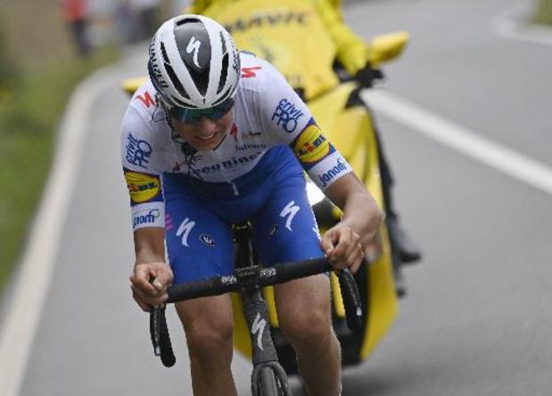 """Amstel Gold Race - Mauri Vansevenant reed zich in de kijker: """"Ik mag niet klagen"""""""
