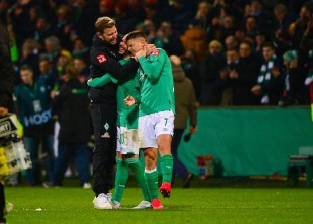 Brême ne peut pas reprendre l'entraînement en petits groupes, Hoffenheim et Düsseldorf oui