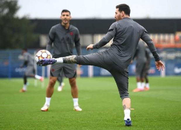 Lionel Messi est bien de retour dans le groupe du Paris SG face à Manchester City