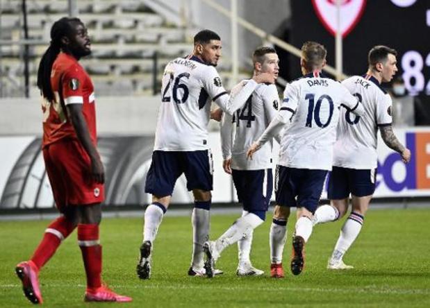 Europa League - L'Antwerp s'incline 3-4 face aux Rangers et se complique la tâche