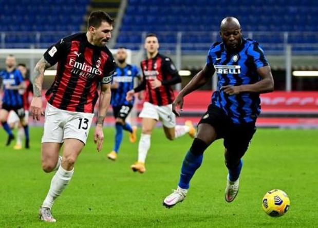 Romelu Lukaku manquera la demi-finale aller de la Coupe d'Italie contre la Juventus