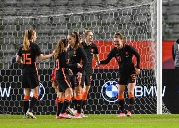 Red Flames - Trop fortes, les Néerlandaises surclassent les Red Flames