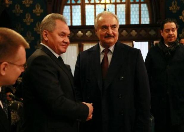 Le gouvernement libyen refuse de rencontrer le maréchal Haftar à Moscou