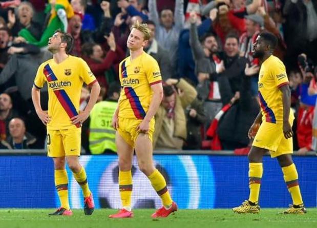 Copa del Rey - Na Real Madrid ook Barcelona uitgeschakeld