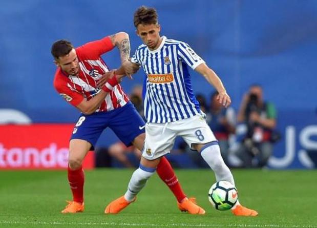 Les Belges à l'étranger - L'Atletico Madrid tombe pour la première fois de la saison à la Real Sociedad de Januzaj