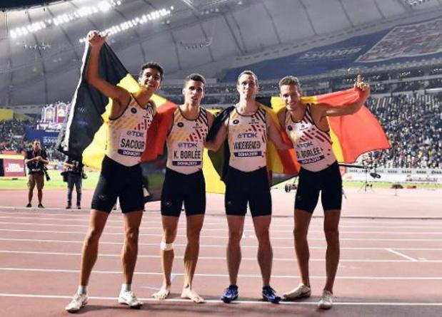 WK indooratletiek - Belgian Tornados geven forfait en verdedigen bronzen medaille niet