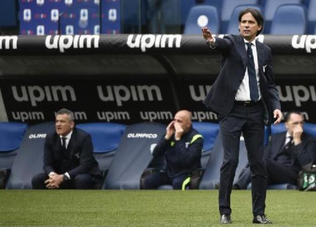 Serie A - Lazio-trainer Simone Inzaghi test positief op coronavirus