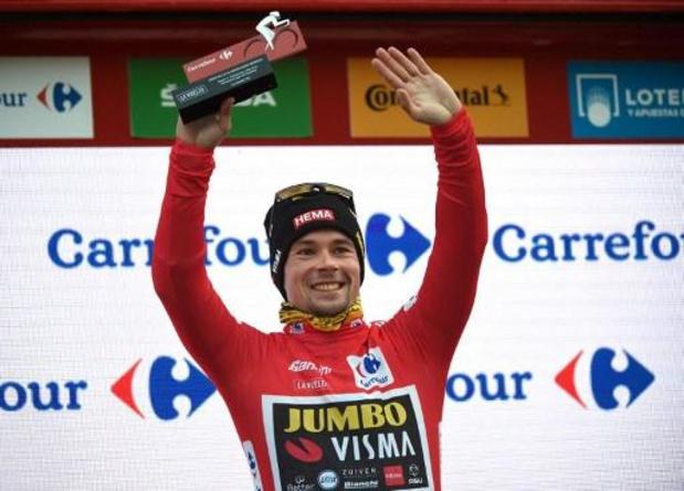 """Vuelta - Primoz Roglic kwam niet in de problemen: """"Hadden alles onder controle"""""""