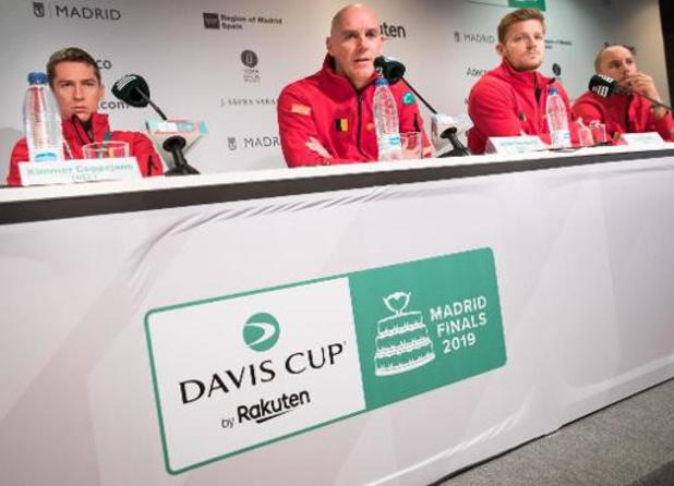 """Davis Cup - Johan Van Herck: """"Ambitie is minimum kwartfinales"""""""