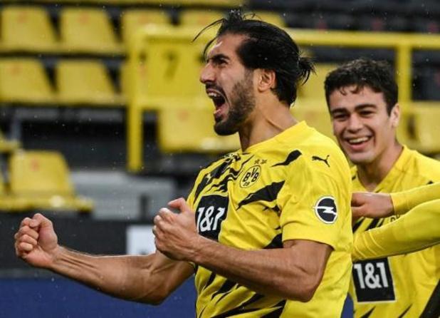 Emre Can reprend les entraînements à Dortmund