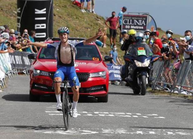 Remco Evenepoel vainqueur final, Ivan Ramiro Sosa gagne la dernière étape