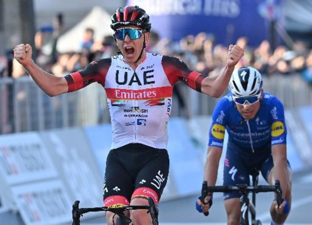Tour de Lombardie: Victoire de Tadej Pogacar après Liège-Bastogne-Liège et le Tour de France
