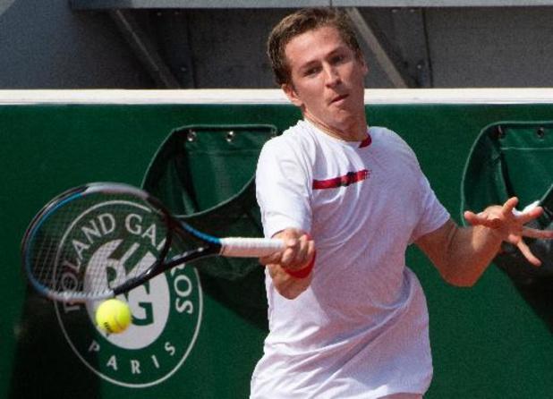 Kimmer Coppejans qualifié pour le 2e tour du tournoi de Saint-Tropez, Zizou Bergs battu d'entrée