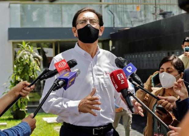 Ex-president Vizcarra van Peru test positief op COVID-19 ondanks vaccinatie