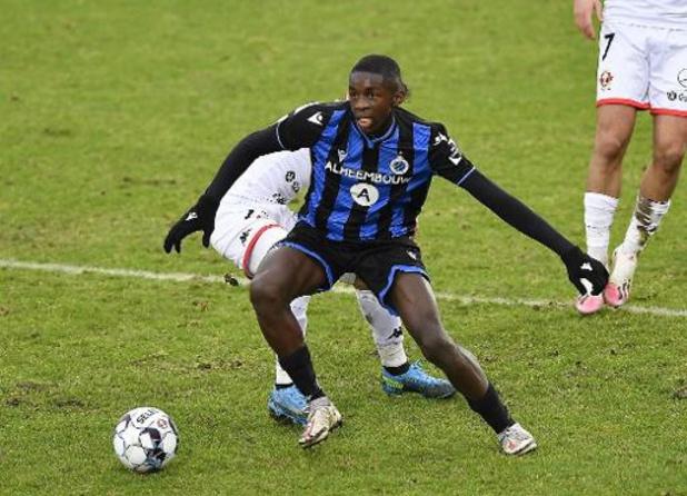 Le Club de Bruges offre un contrat jusqu'en 2023 au jeune Noah Mbamba