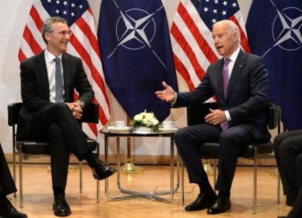 Stoltenberg bespreekt uitdagingen van NAVO met Biden