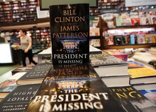 Tweede roman Bill Clinton verschijnt volgend jaar