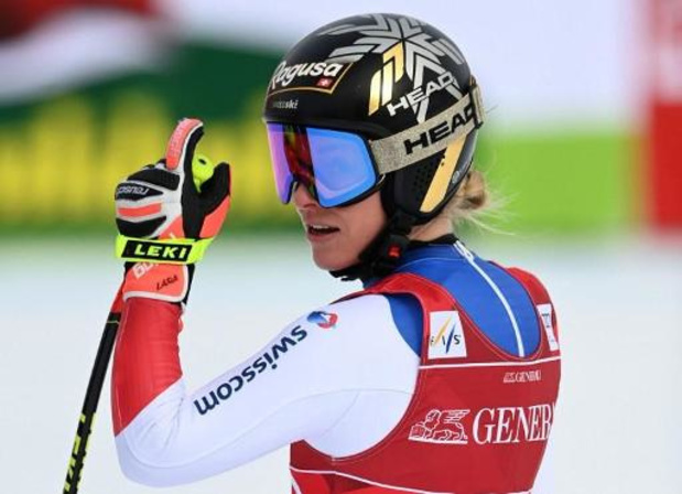 WB alpijnse ski: Lara Gut-Behrami verovert weer winst in Super-G