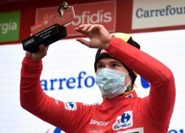 Toujours leader de la Vuelta, Primoz Roglic content que l'étape la plus longue soit passée