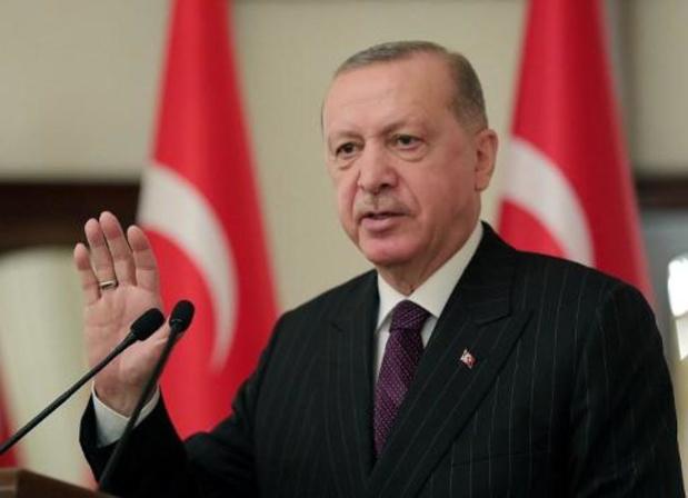 """Erdogan wil Turkse relaties met EU """"opnieuw op de rails zetten"""""""