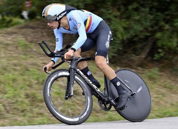 Segaert et Uijtdebroeks offrent un doublé à la Belgique dans le chrono juniors de cyclisme