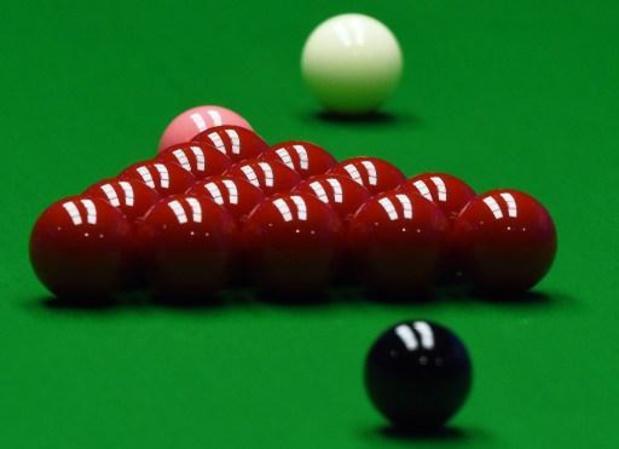WK snooker - Ben Mertens voorbij James Cahill naar tweede kwalificatieronde