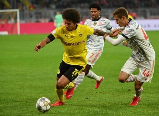 Les Belges à l'étranger - Witsel et Dortmund s'inclinent en Supercoupe d'Allemagne contre le Bayern
