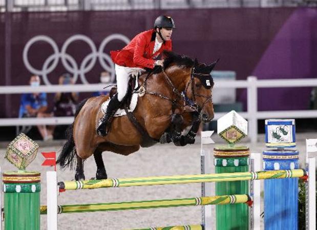 Jos Verlooy neemt beste start op EK jumping