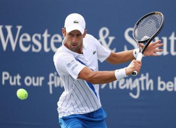ATP Cincinnati - Djokovic rekent af met Raonic en verovert eindzege