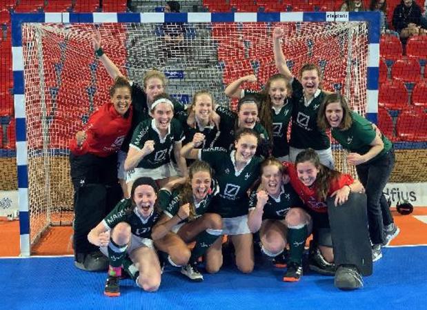 Belfius Indoor Finals: 3e titre féminin consécutif du Watducks