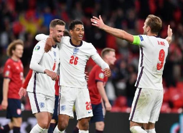 Euro 2020 - Une Angleterre convaincante se défait de la Tchéquie pour terminer en tête du groupe D