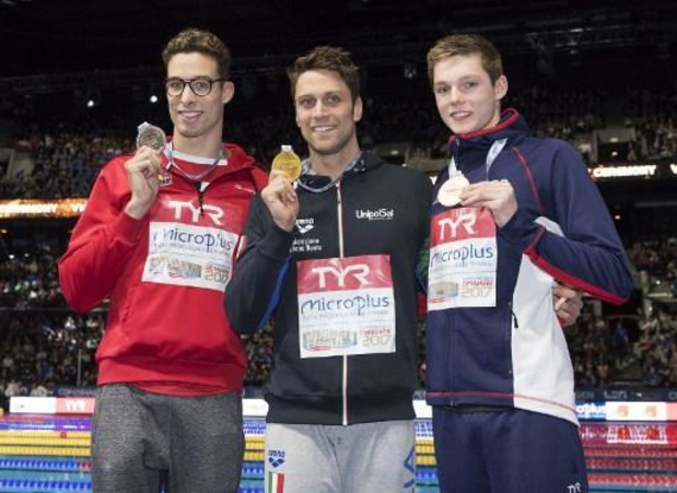 Quatre nageurs, dont Pieter Timmers et Valentine Dumont, à Glasgow de mercredi à dimanche