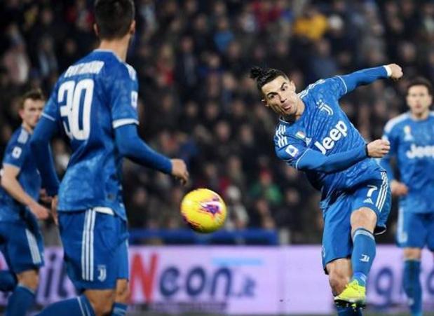 Belgen in het buitenland - Cristiano Ronaldo treft voor de elfde wedstrijd op rij raak voor Juventus