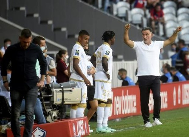 Ligue 1 - Le champion de France Lille humilié par Nice 4 à 0 pour son premier match à la maison