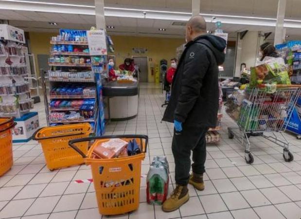 Italiaanse supermarkten bieden 10 procent korting aan armsten