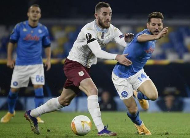 Europa League - Mertens valt in bij Napoli, dat Maradona eert met zege tegen Rijeka