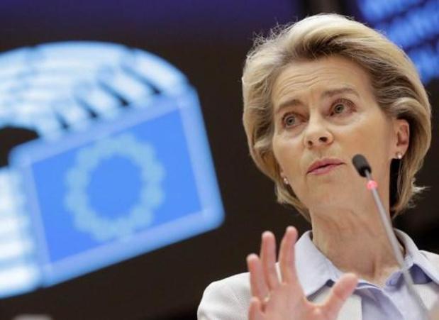 Von der Leyen enjoint à la Hongrie et la Pologne de s'en remettre à la Justice européenne