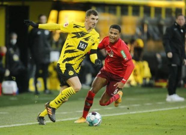Le Borussia Dortmund peut compter sur le retour de Thomas Meunier