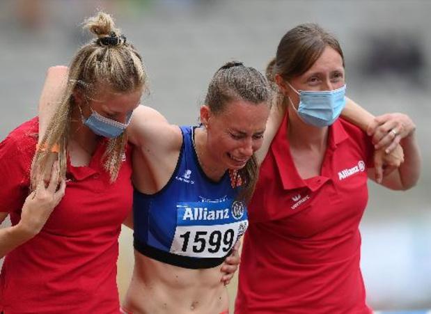 Renée Eykens doit subir une opération au tendon d'Achille et fait une croix sur les Jeux