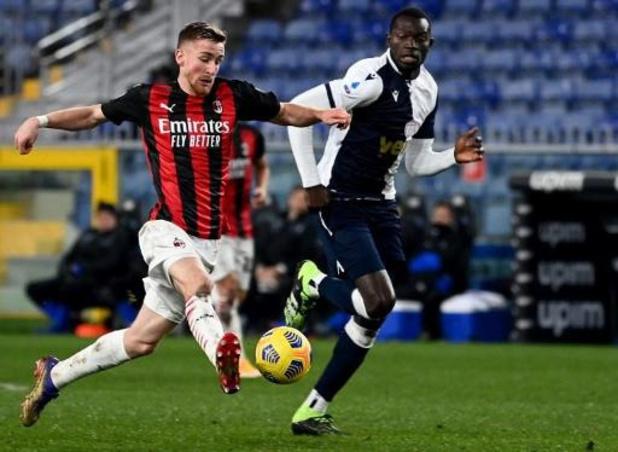 Les Belges à l'étranger - Lyon s'impose au PSG, Milan (sans Saelemaekers souffrant) partage contre Parme