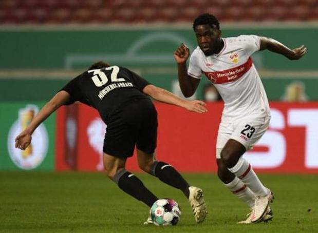 Les Belges à l'étranger - Stuttgart et Mangala éliminés en Coupe d'Allemagne par Mönchengladbach