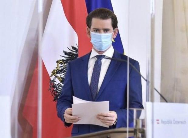 Vanaf dinsdag opnieuw gedeeltelijke lockdown in Oostenrijk