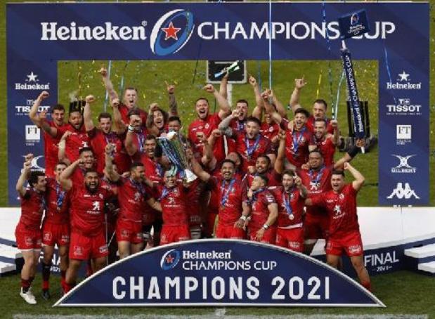 Cinquième titre record pour Toulouse en Coupe d'Europe de rugby