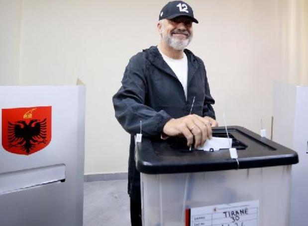 Albanie : le Premier ministre Edi Rama en passe de remporter un troisième mandat