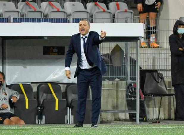 Serneels a sélectionné 21 Red Flames pour le déplacement en Lituanie