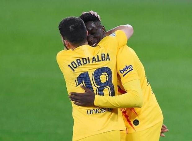 La Liga - Barcelone bat Osasuna et met la pression sur l'Atlético avant le derby madrilène