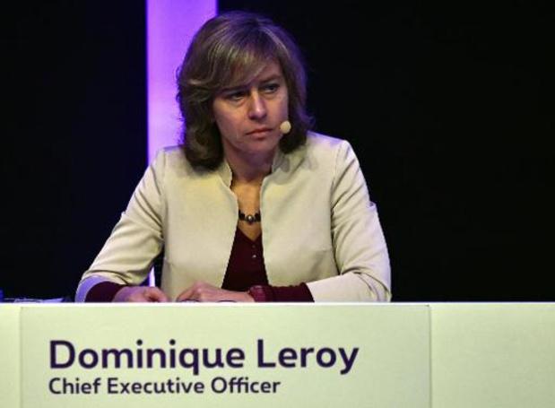 Dominique Leroy inculpée dans le dossier relatif à un éventuel délit d'initié